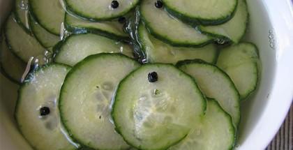 opskrift på agurkesalat