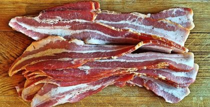 Bacon og retter med bacon