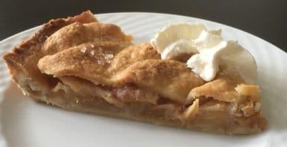opskrift på æbletærte