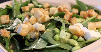 Salat til med fra grill
