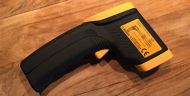 Infrarød Termometer pistol – En genialitet ved grillen