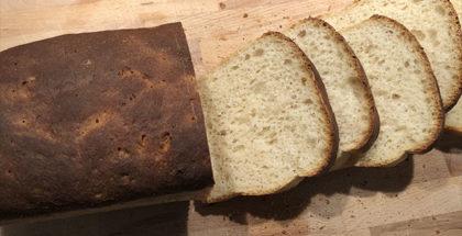Formbrød og franskbrød i grill
