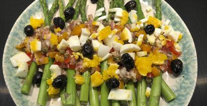 Grillet salat til påske