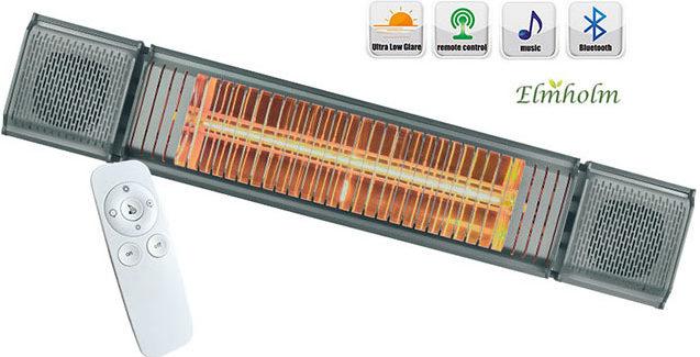 Elmholm terrassevarmer – billig og miljøvenlig