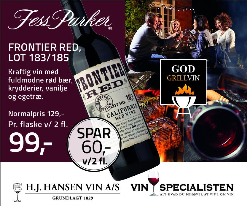 Red Frontier rødvin