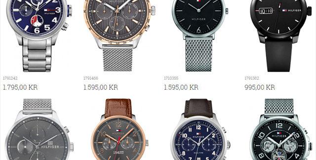 Smarte og lækre ure fra Tommy Hilfiger