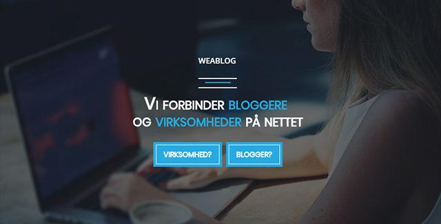 Tjen penge på din blog – Weablog.com