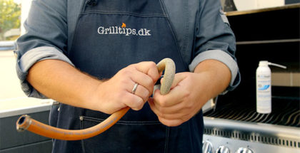 Gasgrill sikkerhed