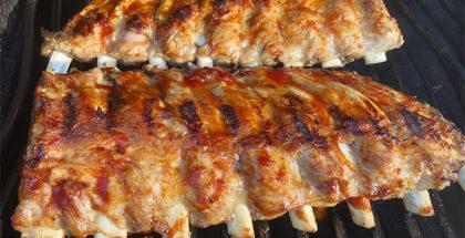Sparibs på grill