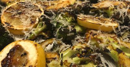 Grillet broccoli med chili