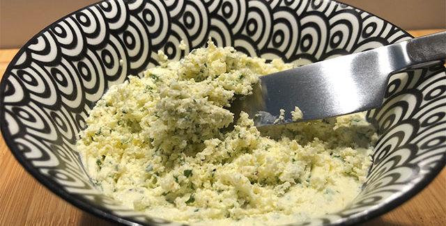 Bearnaise smør med frisk estragon