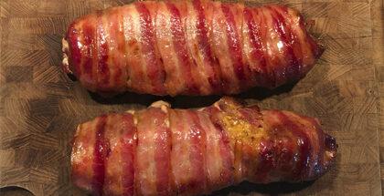 Bacon Mørbrad med ahornsirup