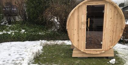 Udendørs infrarød sauna